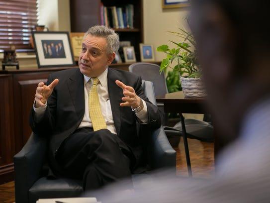 University of Delaware President Dennis Assanis discusses