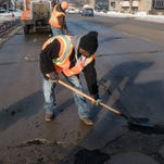 'Something different every day:' Crews reflect on filling potholes throughout winter