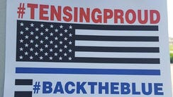 The logo of the Facebook group Support Ray Tensing