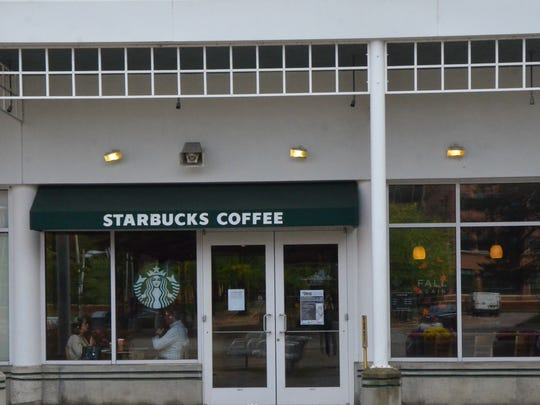 The Starbucks in McCamly Plaza is closing on Sunday, Oct. 29.