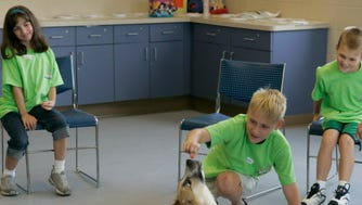 Kids get the opportunity to interact with animals during the Wisconsin Humane Society summer camps.