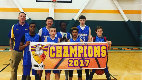 The Western North Carolina Warriors seventh-grade boys