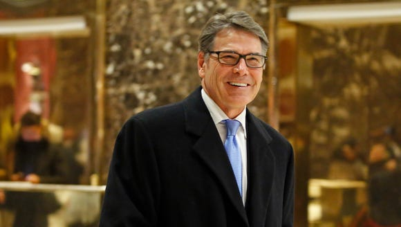 Former Texas Gov. Rick Perry has been nominated to