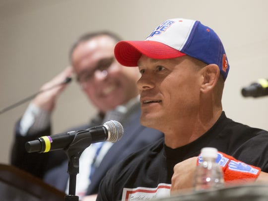 WWE superstar John Cena answers questions from fans