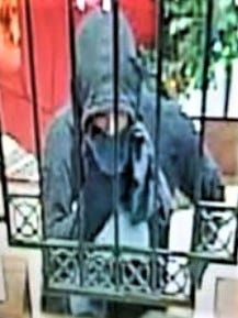 A man with a hoodie on Dec. 29 robbed the WestStar Bank at 5604 E. Paisano Drive.