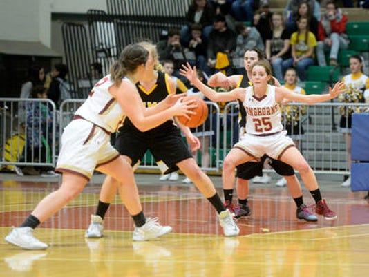 Fort Benton girls' basketball