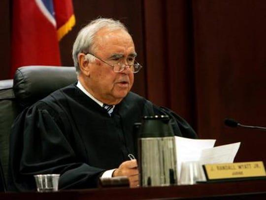 Davidson County Criminal Court Judge Randall Wyatt