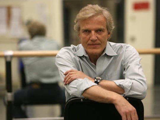 Peter Martins, an Irvington resident, is photographed