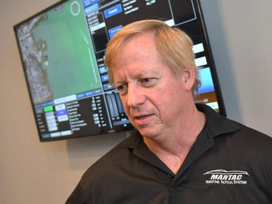 CEO Bruce Hanson, of MARTAC Maritime Tactical Systems in Satellite Beach, where they make unmanned maritime systems for military and commercial use, and have plans for a major expansion.