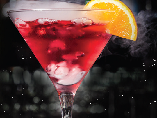 "Mastro's ""Summer of Luxury"" includes a chilled vodka martini."
