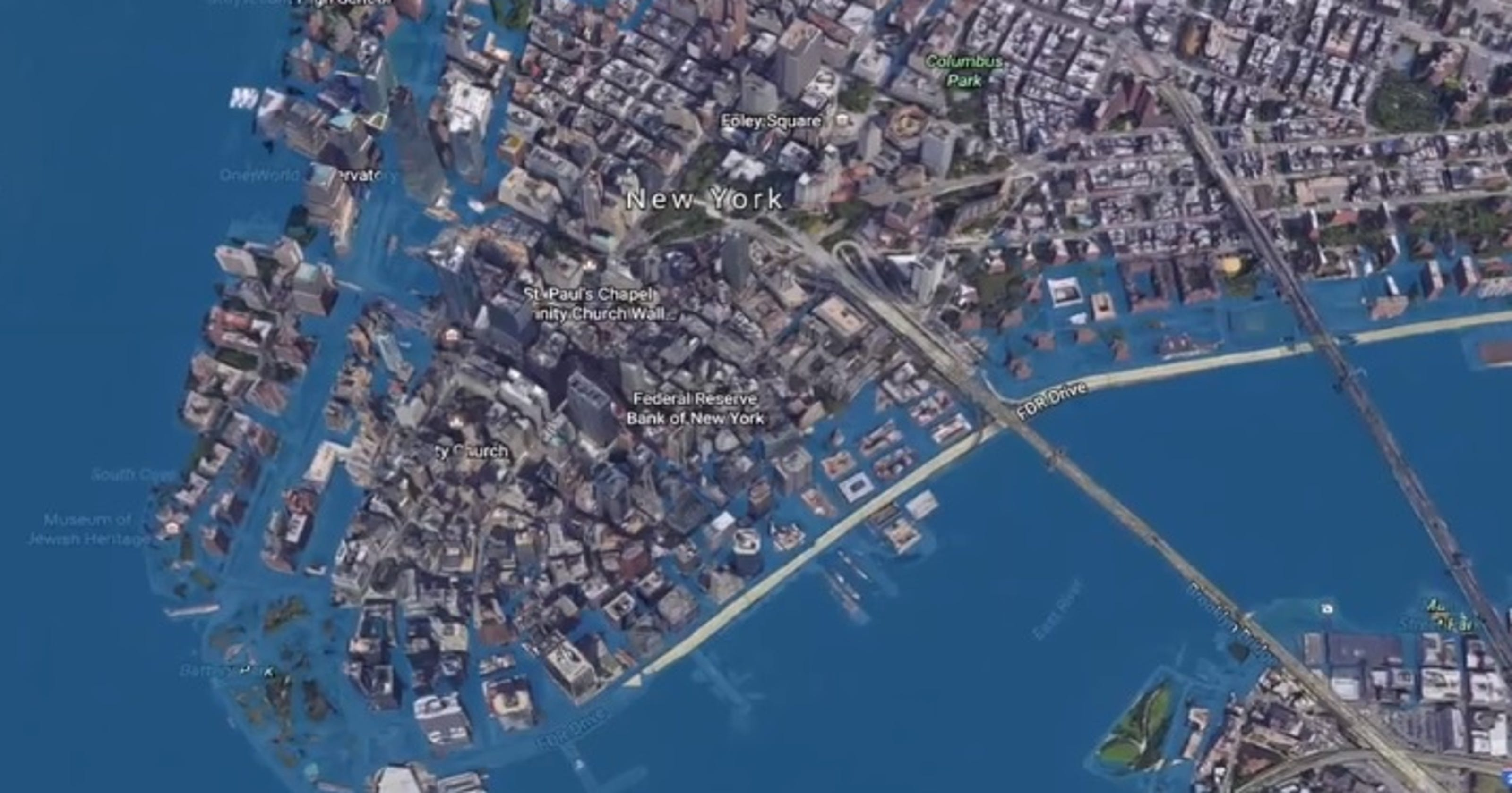 Sea level rise: Rising oceans could swamp coastal cities