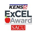 KENS 5 SACU ExCEL Award logo