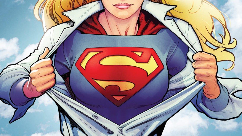 DC Comics' 'Supergirl'...