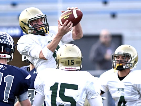 York Catholic vs Camp Hill District 3-A title fball