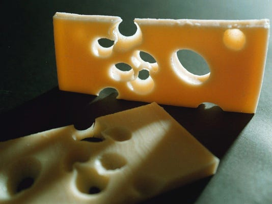 Switzerland Cheese Missing Holes