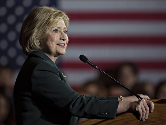 Hillary Clinton continues to dominate the polls in