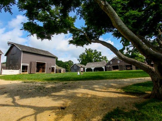 Longstreet Farm is a working farm in Holmdel Park that