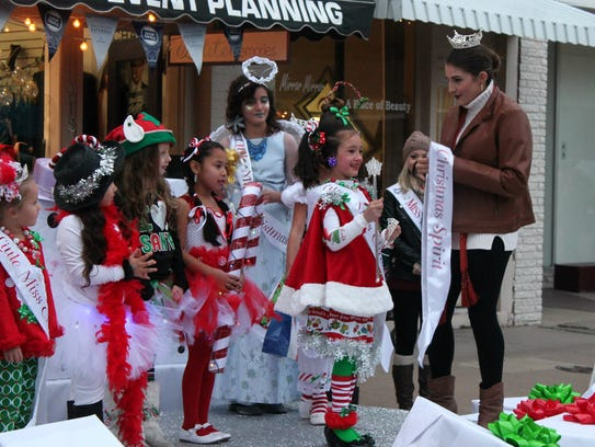 In this 2016 file photo, Baylee Craine wins her age category as well as Overall Christmas Spirit during the Little Miss & Mr. Christmas Pageant.