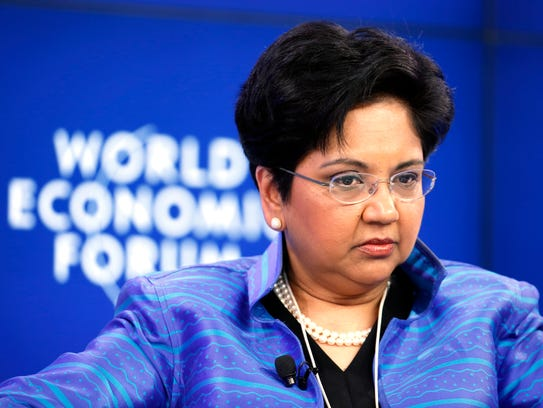 PepsiCo CEO Inra Nooyi in 2014.