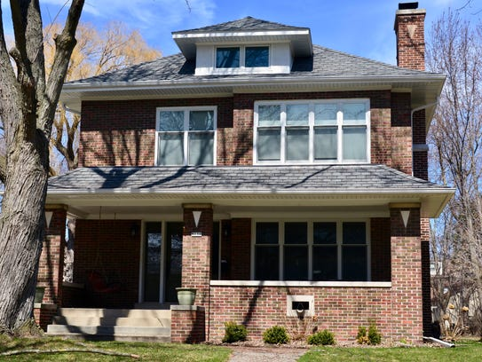This is one of six homes on the Wauwatosa Historical
