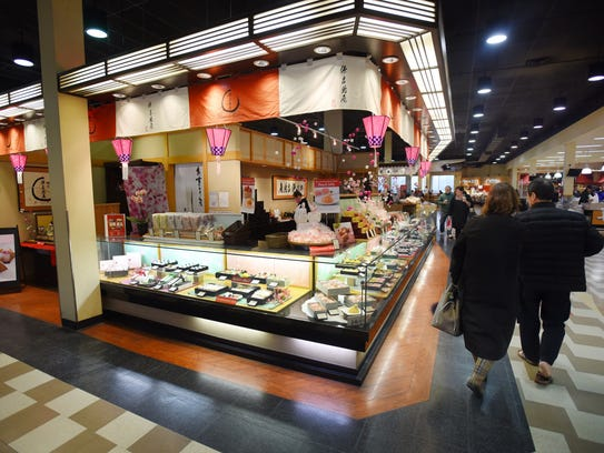 Japanese pastry section   at Mitsuwa Marketplace in