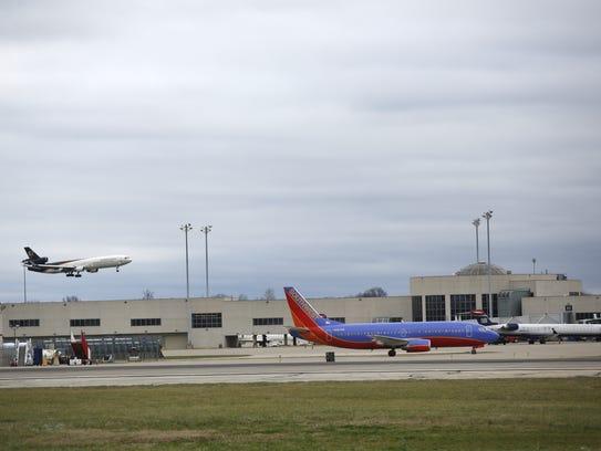 Louisville International Airport.