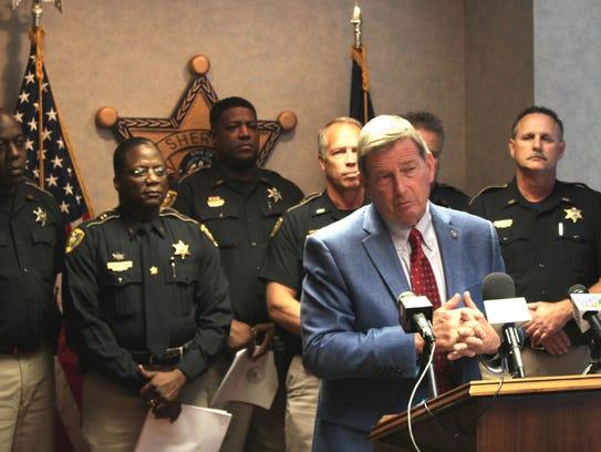 Caddo Parish Steve Prator said several convicted felons