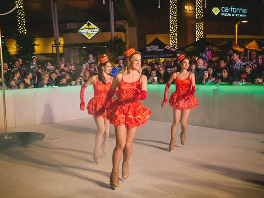 Tempe Marketplace will offer skating on a faux ice