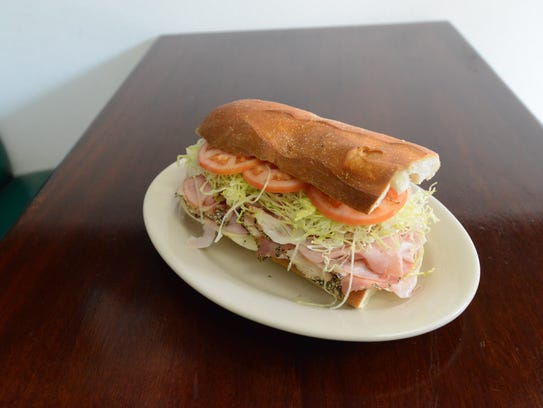 Bogie's Hoagies, a shop owned by Paul Beaugard, in