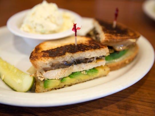 The menu at Ventura's Hill Street Cafe includes a lemon