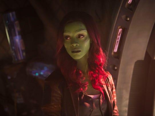 Gamora (Zoe Saldana) could play an interesting role