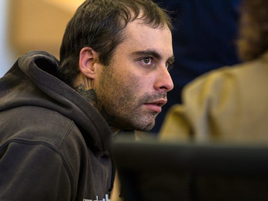 Corey Cassani appears in Vermont Superior Court in