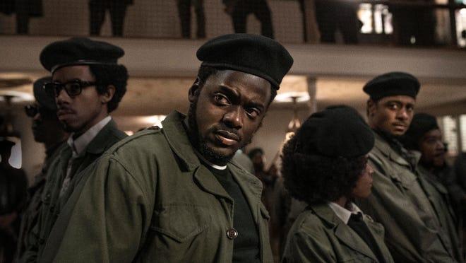 "Daniel Kaluuya as Fred Hampton in a scene from ""Judas and the Black Messiah."""