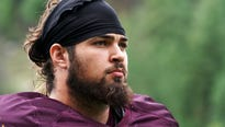 Sam Jones was expected to anchor the ASU offensive line again in 2018.