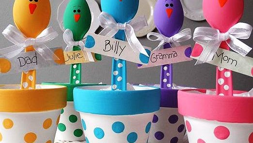 """Crafters will make Easter chick table decorations or place holders at the Saturday, March 17, Craftermorning program at the Fond du Lac Public Library. Free; supplies provided and open to adults and teens age 13 and older. Space is limited. Sign-up is open online at fdlpl.org, click """"Calendar."""""""