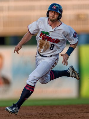 Jimmy Kerrigan went from playing Independent League baseball last season with the River City Rascals to being a Fort Myers Miracle All-Star.