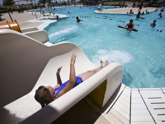 The Pecos Pool in Ahwatukee provides hours of inexpensive