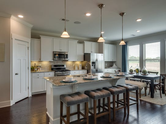 Kitchens with updated appliances and higher ceilings