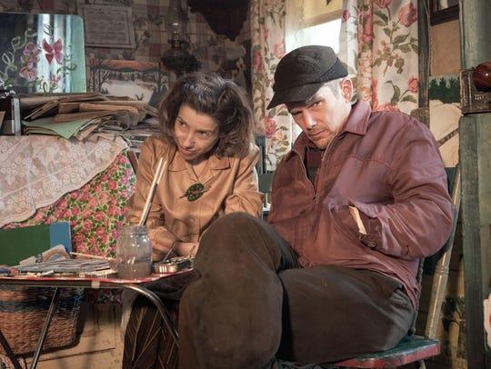Sally Hawkins as Maud Lewis and Ethan Hawke as Everett