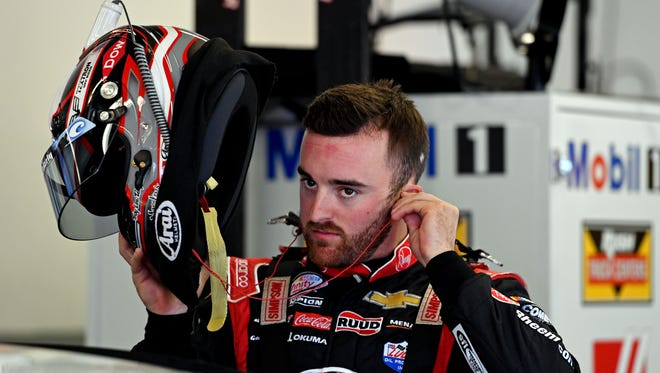Austin Dillon did not incur a fine or a penalty from NASCAR for his actions during the Xfinity Series race at Phoenix, but he was given a strong rebuke by series officials in private.