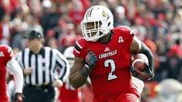 Louisville linebacker Preston Brown