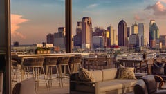 Swanky rooftop bars are new hotel craze