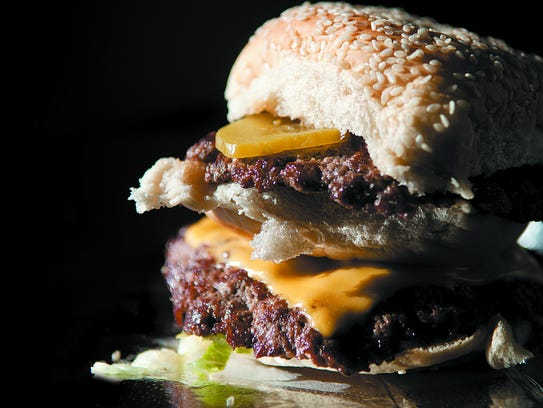 The HighBurger from BurgerQue in Fort Myers.