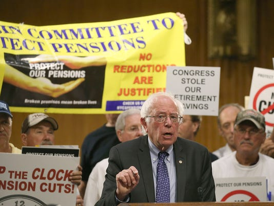 Pension checks to be cut in half for Teamsters retirees