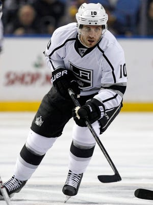 Veteran forward Mike Richards was placed on unconditional waivers by the Los Angeles Kings.