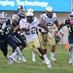Alcorn State running back Darryan Ragsdale ran for 101 yards in the Braves' 14-10 win against JSU on Saturday.