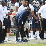 JSU interim coach Derrick McCall, pictured bent over, went 2-4 in his six games as coach.