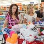 """Tina Fey and Amy Poehler in """"Sisters."""""""