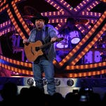 Garth Brooks performs at the Joe Louis Arena on Friday, Feb. 20, 2015, for the first of his six shows at the arena in the downtown Detroit. s