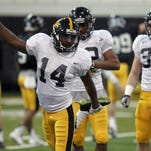 """Star cornerback Desmond King is among the 16 upperclassmen who will be pointing the way for the Iowa football team this season as a member of the Hawkeyes football program's """"leadership group."""""""